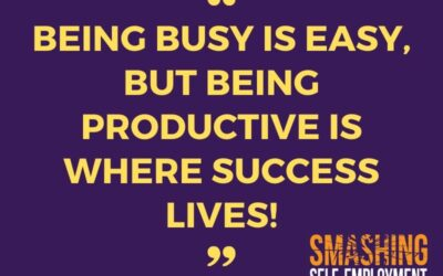 Busy vs productive – a few pointers