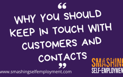 Why you should keep in touch with customers and contacts