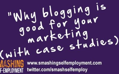 Here's why blogging is good for marketing
