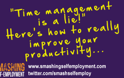 Time management is a lie – here's how to really improve your productivity